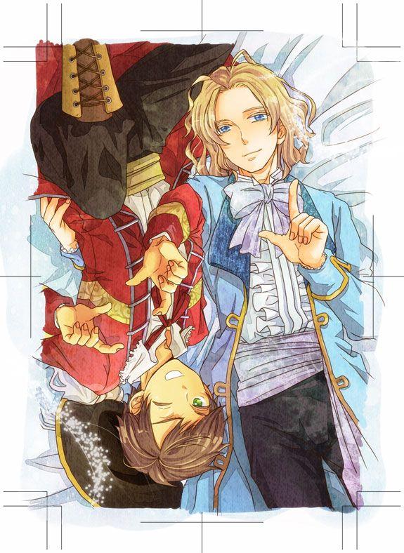 Antonio and Francis - Art by りょう@リヴァイ班 #anime #manga