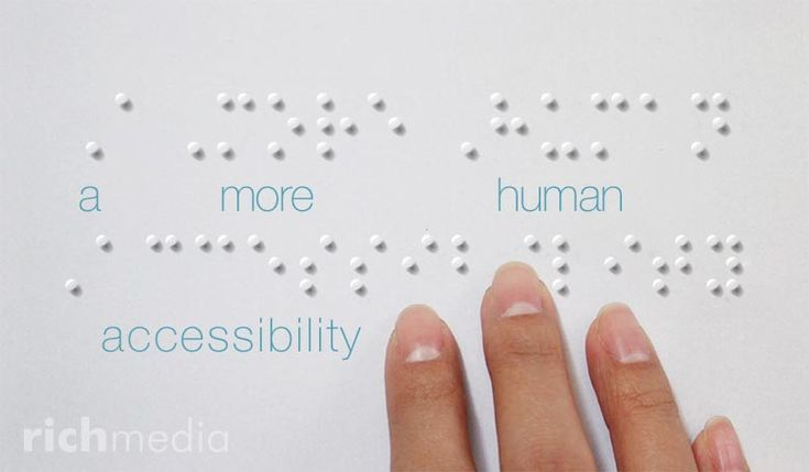 #Accessibility isn't just about checklists and legislation. Read our article on taking a more human approach