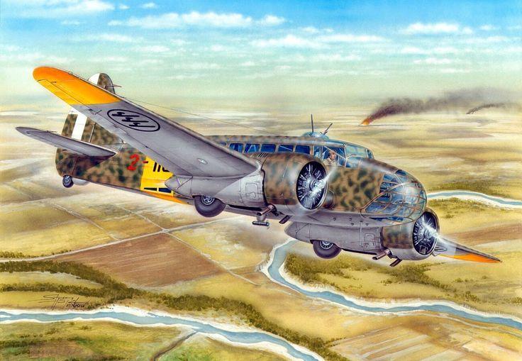 Caproni Ca.311M East Front - Stanislav Hajek - Special Hobby