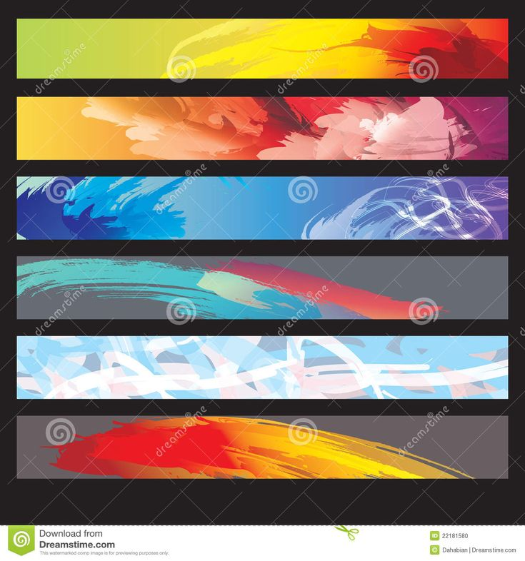 A Set Of Web Banners Stock Photo - Image: 22181580