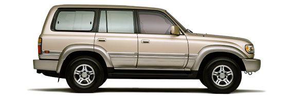 Lexus LX 450 Sport-Utility Vehicle Review (1997)