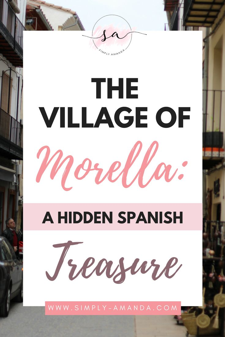 Morella is a beautiful, medieval village hidden in the mountains of Castellón, Spain. And it is an absolute treasure. Click here to read all about my trip to the beautiful mountain town of Morella and the must-see spots you can find here! >>> via simply-amanda.com