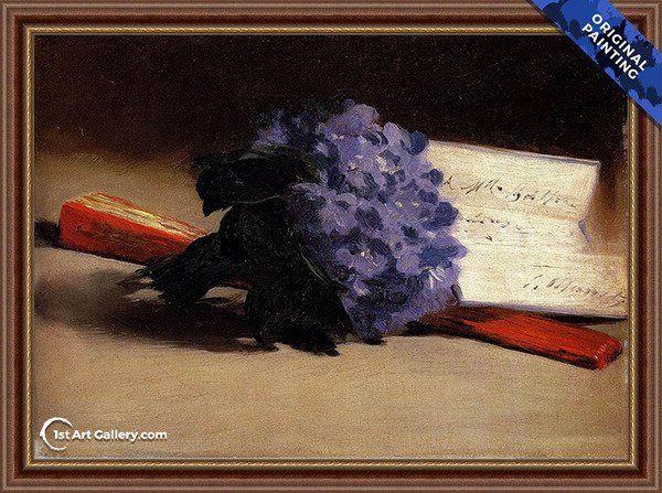 Bouquet Of Violets Manet Edouard Manet Pinturas
