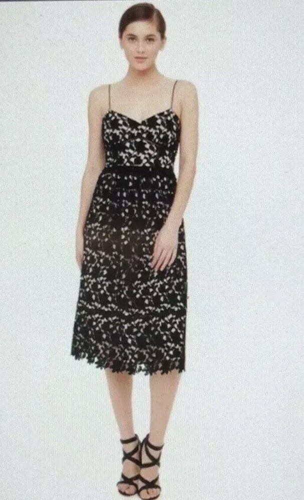 d85e3daac955 Club Monaco Bolari Lace Midi Dress $249 Size 6 #fashion #clothing #shoes #