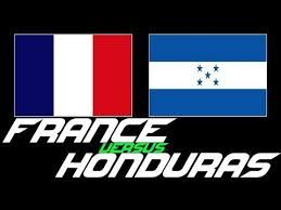 "france vs honduras - Google Search Does the country of ""Voltaire "" can afford not to win this Game ?"