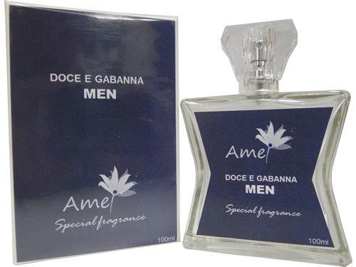 Perfume masculino Doce e Gabanna 100ml inspirado no perfume DOLCE&GABBANA masculino.