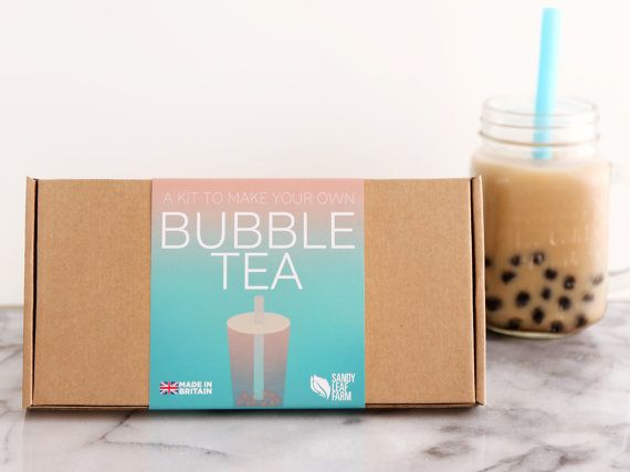 Bubble Tea Kit Make Your Own Refreshing Bubble by SandyLeafFarm