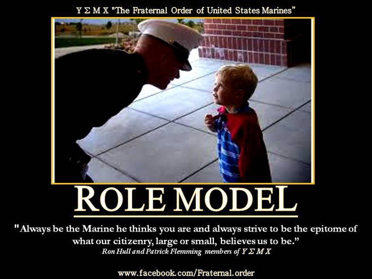 Marine Corps Role Model Military Tribute Pins