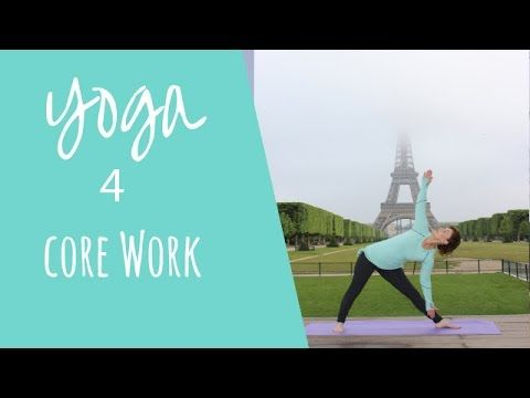 20 Minutes Yoga for Core Work at Eiffel Tower