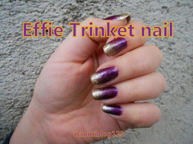 Effie Trinket nail, Effie Trinket, nail,
