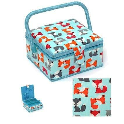 Fox Cubs Sewing Basket For Children