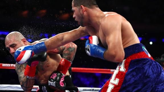 (adsbygoogle = window.adsbygoogle || []).push();    NEW YORK — Miguel Cotto, who began boxing as an 11-year-old to lose weight, said farewell on Saturday night, closing out a glorious 17-year career, but now how most expected.  Instead of an easy win over big underdog Sadam...