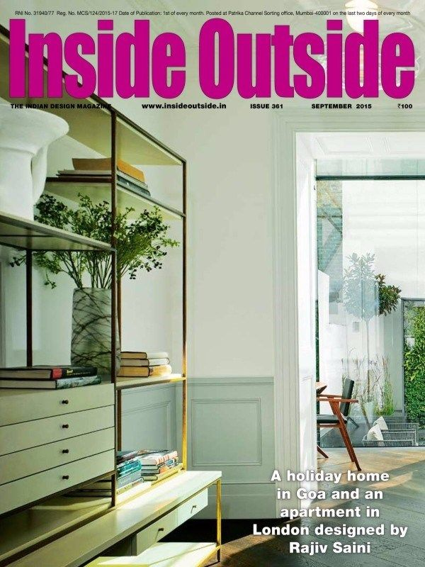 INSIDE OUTSIDE September 2015 Issue A Holiday Home In Goa And An Apartment London