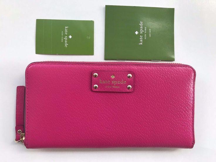 Kate Spade New York Wellesley  Neda Leather Zip Around Wallet #katespadenewyork #ziparound