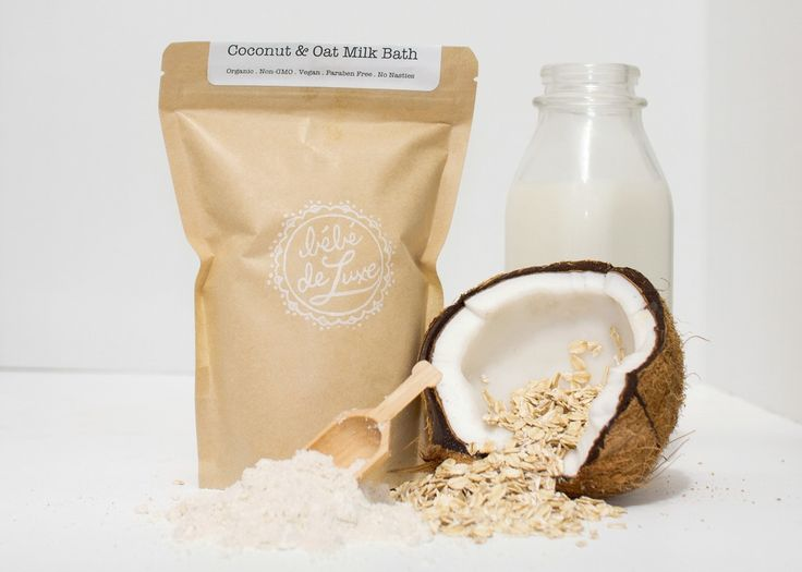 Bébé deluxe - all natural oat and coconut bath.