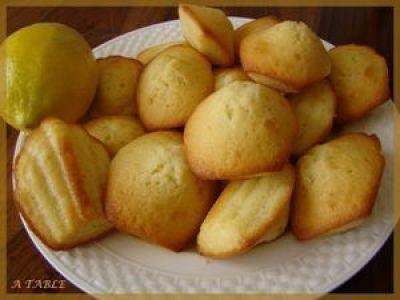 Madeleines au citron de cyril lignac   Recette   Madeleine ...