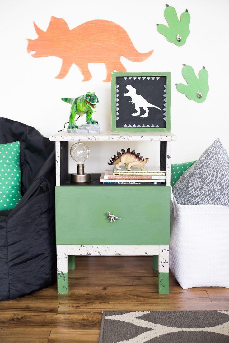 Dinosaur Nightstand Redo Nightstand Redo Diy Furniture Hacks Home Decor