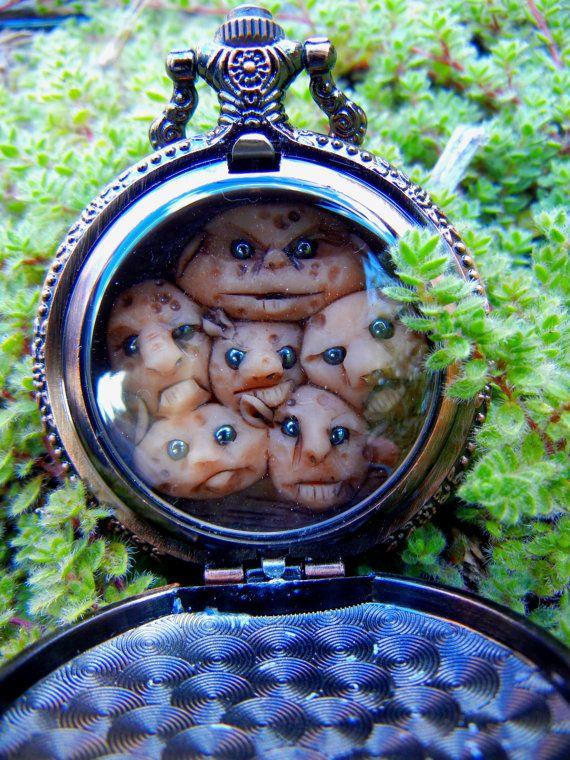 Re dei Goblin di Pocketwatch labirinto ispirato di TheSilverBranch, $45.00