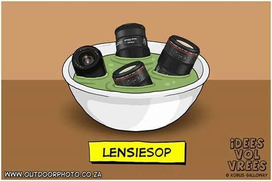Lensiesop  #Idees_vol_vrees #snaaks #grappe #fotograwe #lensiesop #IVV #jokes #Afrikaans