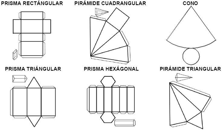 Resultado de imagen de volumen de los sólidos geométricos 2º eso