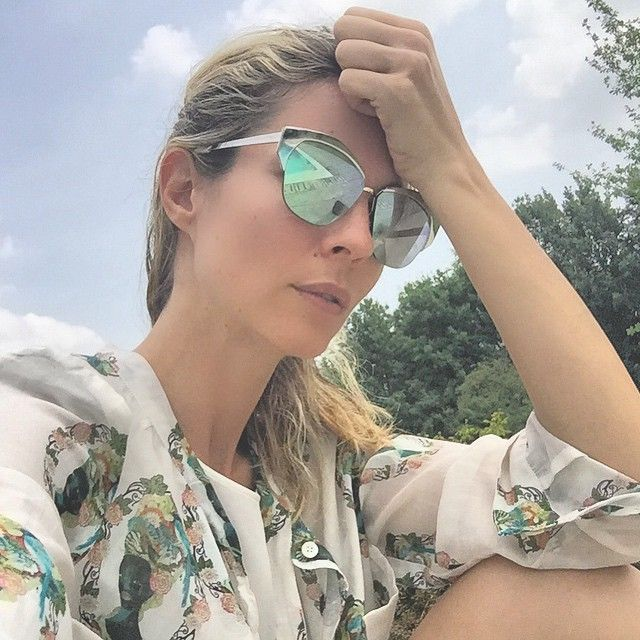 #RobertaRuiu Roberta Ruiu: Summer on my mind. — #keeponshining — #goodmorning #LetitBe #relax #nature #swimmingpool #garden #beauty #ootd #shirtaporter #sunglasses #Dior #girly #fashionable #holiday #selfie #eyewear #pose #safilo #vscocam #iphone6 #blonde
