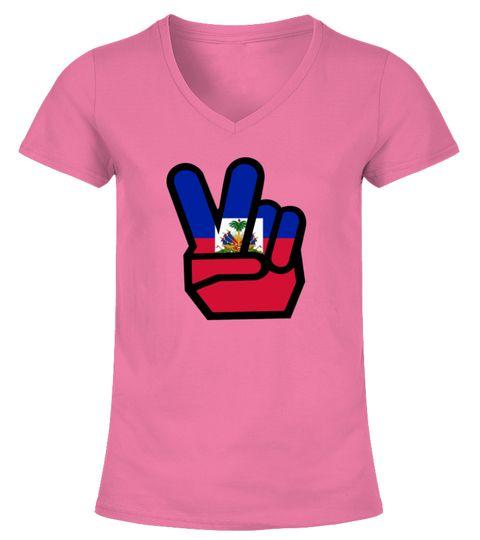 HAITI flag winning finger Shirt