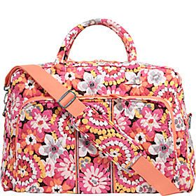 Vera Bradley Luggage and Suitcases - this is my favorite because it's bigger than a duffel and it isn't plain and ugly.