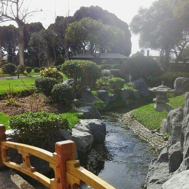 Parque Japones en La Serena, cuarta region Coquimbo.