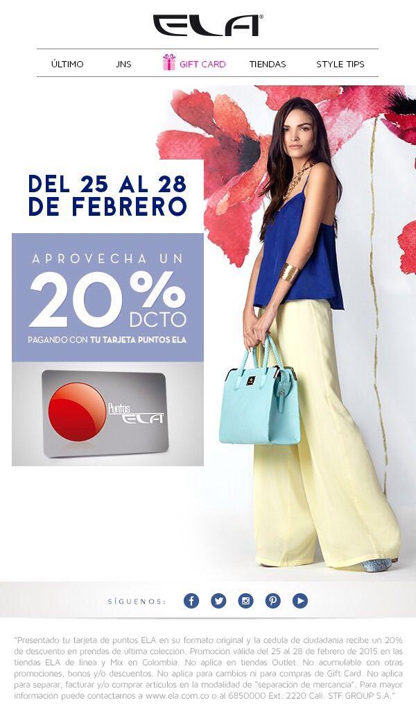 Ela / Alamedas Centro Comercial #Piensaenti