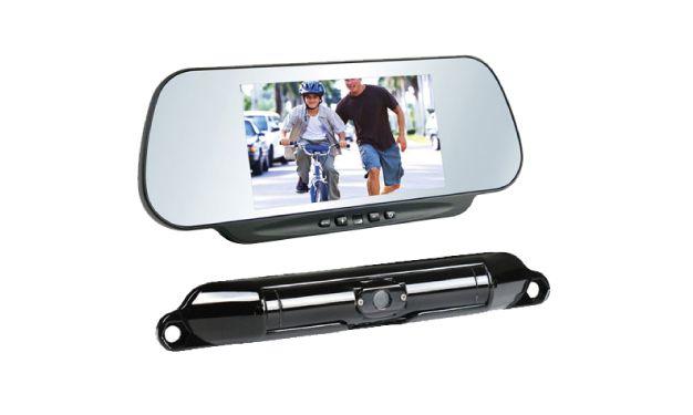 Boyo VTC464RB Wireless Bar-Type Camera & 6 Rear View Mirror Monitor