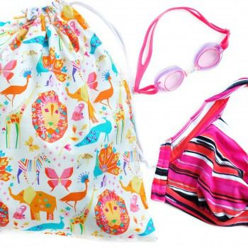 A drawstring bag for every occasion! Little Alligator featured on Handmade Emporium - Australian Online Marketplace.
