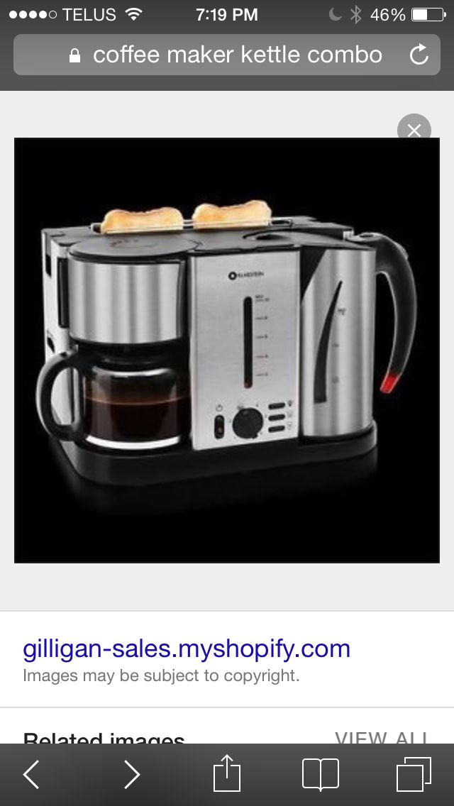 3 in 1 coffee pot