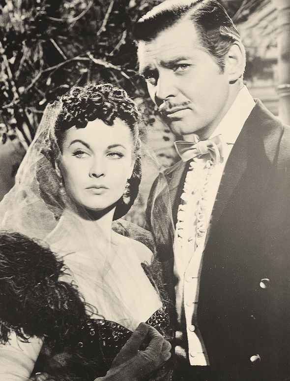 Perfect stank face courtesy of Viven Leigh and Clark Gable.