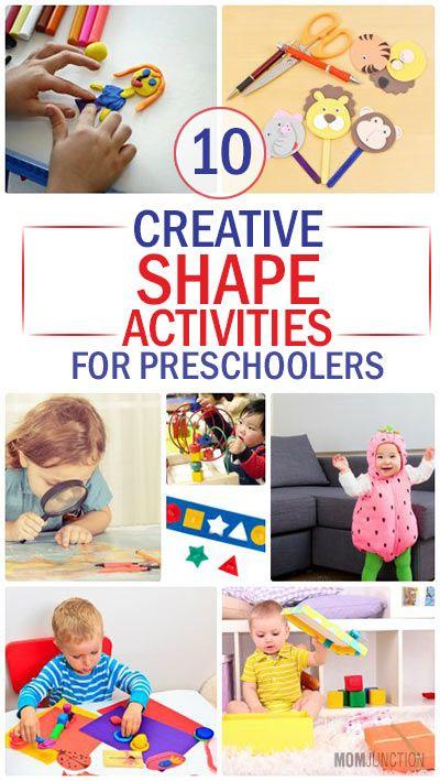 Top 10 Creative Shape Activities For Preschoolers