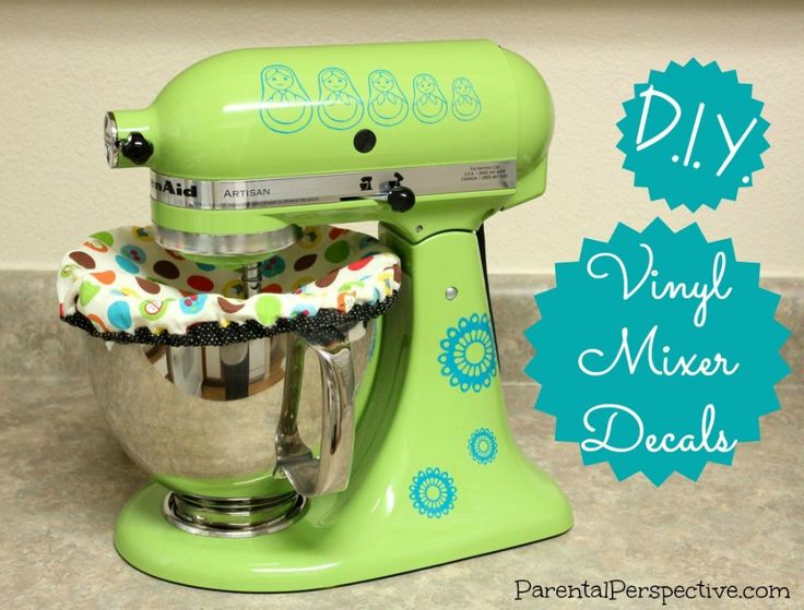 Diy Kitchenaid Mixer Decals ~ Diy vinyl mixer decals vinyls perspective and the o jays