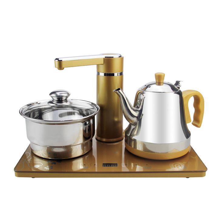 O envio gratuito de abastecimento de água Automático chaleira elétrica jogo de chá chaleiras Elétricas