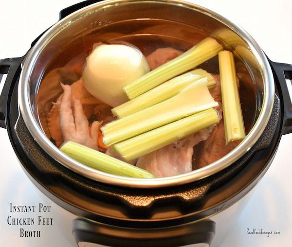 Instant Pot Chicken Feet Broth (Paleo, SCD, GAPS,…Edit description