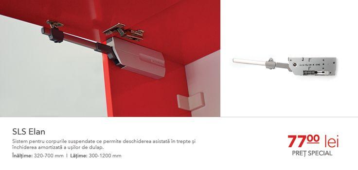 Pistoanele cu aer pentru corpurile suspendate nu vor putea niciodată să se compare cu finețea deschiderii și a închiderii conferite de sistemul SLS Elan. Pentru ca mobilierul modern merită accesorii pentru mobilă deopotrivă moderne: http://www.bodnar.eu/produse/sls-elan/»