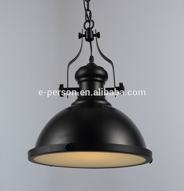 Vintage Style Industrial lamp guard -Iron Edison Bulb Suspended Pendant Light -hanging industrial style lamp