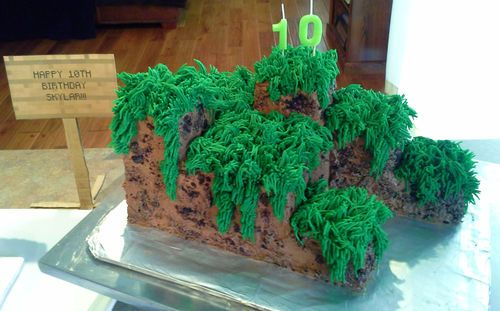 Cake Decorating Making Grass : 25+ best ideas about Grass Cake on Pinterest Cupcake ...