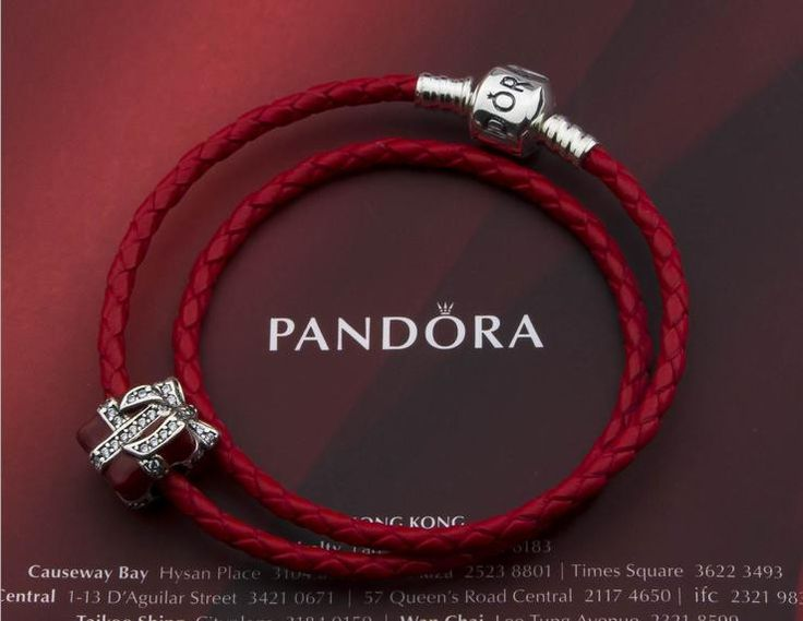 New in our store:Authentic pandora leather double circle charm bracelet ,check it out today !