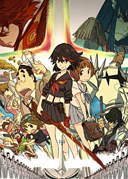 Fall 2013: Kill la Kill by Studio Trigger // No quite sure about what I saw in the first ep., but I *loved* it. // 1ST Half // AWESOME+++ // ★★★★★★★