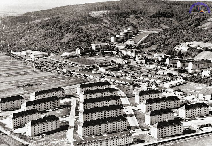 This is where we lived in Germany back around 1978 or so when I was a kid! What fond memories I have of this place! We lived in the middle building! Aerial Coleman Barracks.jpg 1,000×689 pixels