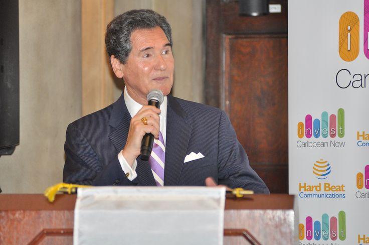 NYC News Anchor Ernie Anastos  emcees Invest Caribbean Now 2014
