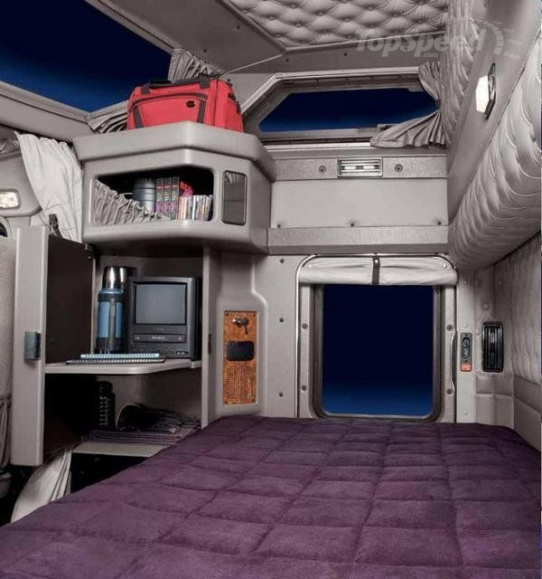 International ProStar Interior By David Allendorph At Semi Truck Sleeper Cab Interior: Kenworth T800