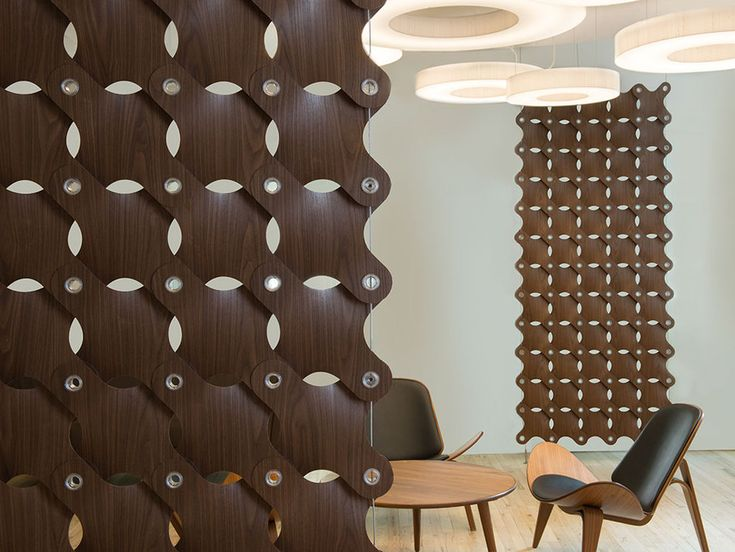 Studio By Modular Wall System Ditto Makes For A Striking, Fun Room Divider