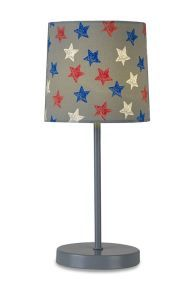 Multicoloured Star Table Lamp