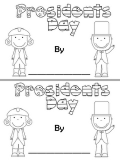 """Presidents' Day"" Booklet"