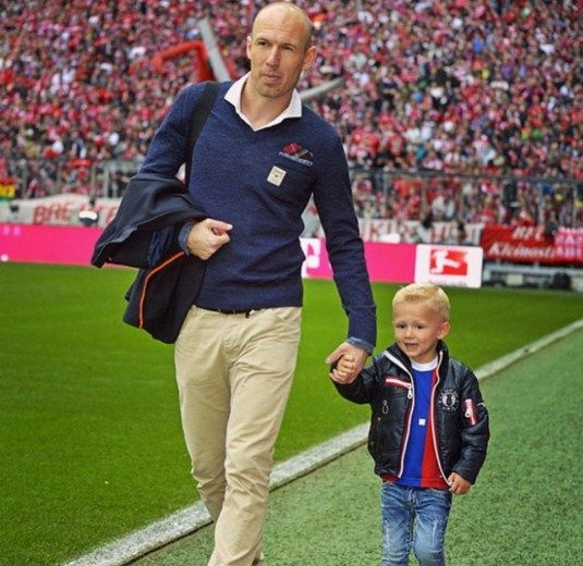 Arjen Robben age and biography