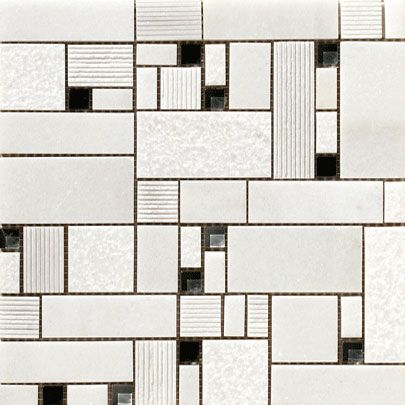 QUORUM: Mosaico Grimani Blanco - 30x30   (p)cm.   Floor Tiles - Porcelain   VIVES Azulejos y Gres S.A.